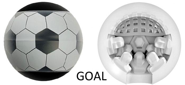 Masturbateur Stroker Ball Goal ballon de foot