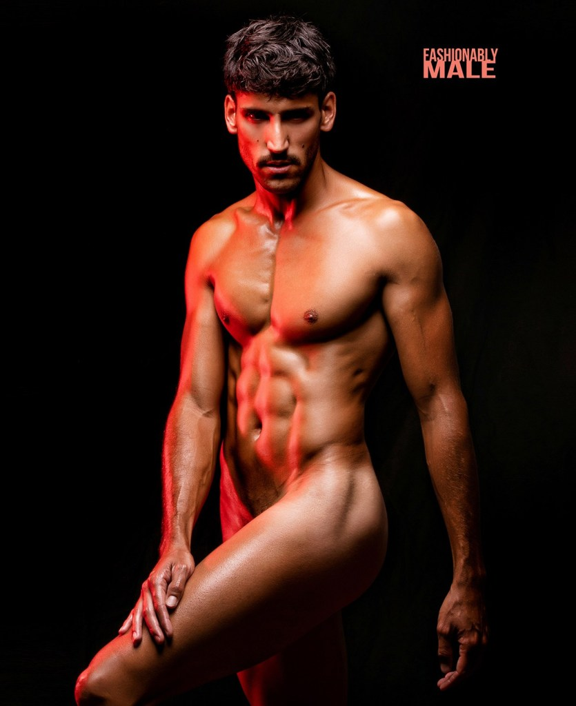 Javier Monroy Cover Crisol for Fashionably Male