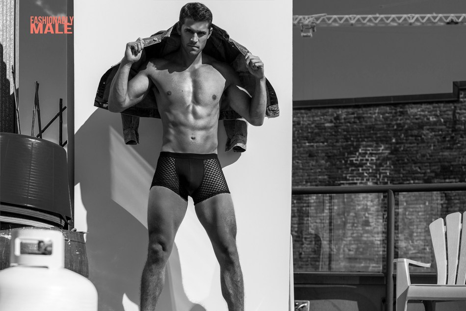Connor Anthony by Jamie Mann for Fashionably Male