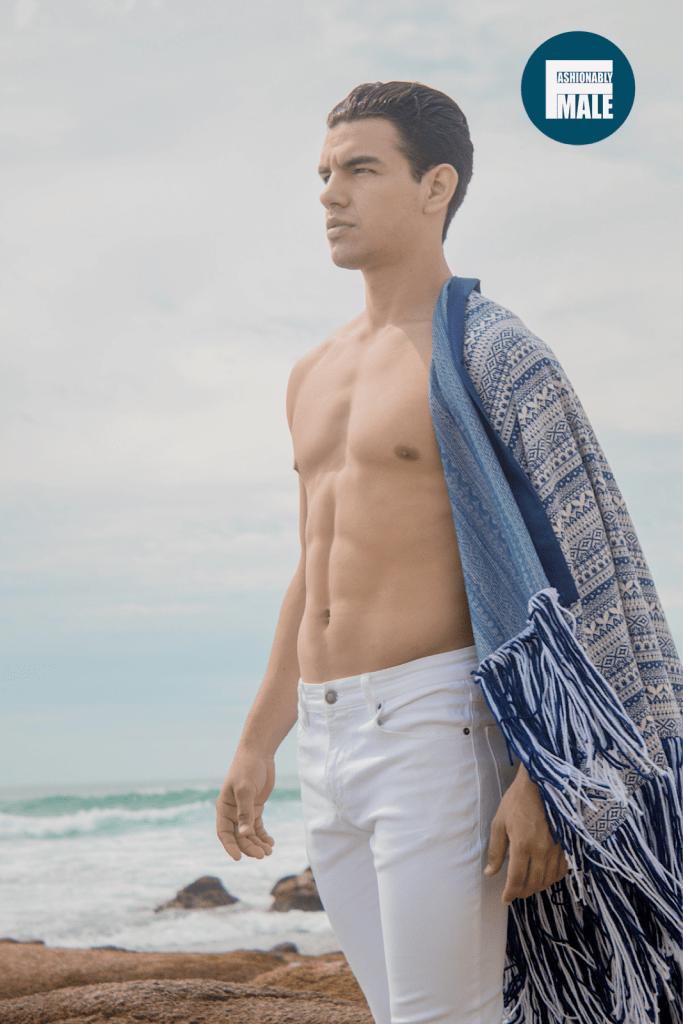 Gabriel Ortiz by Chris Femat for Fashionably Male