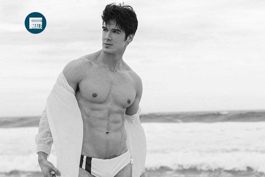 Gabriel Fletcher by Sergio Baia for Fashionably Male