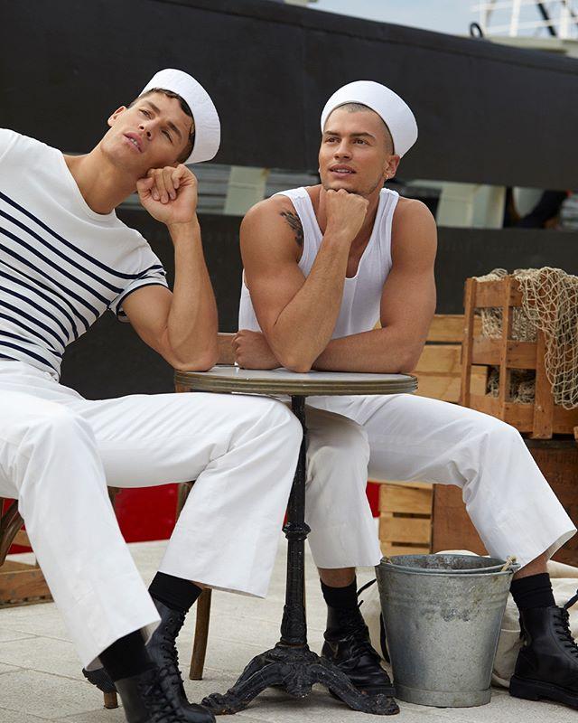 Tyler Maher and Brandon Good for Jean Paul Gaultier: Le Male Le Parfum
