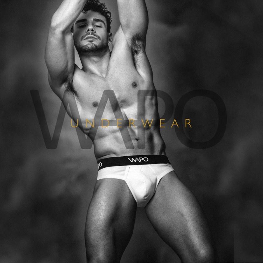 Matteo Sulas by Simone Pilia for WAPO Wear Underwear