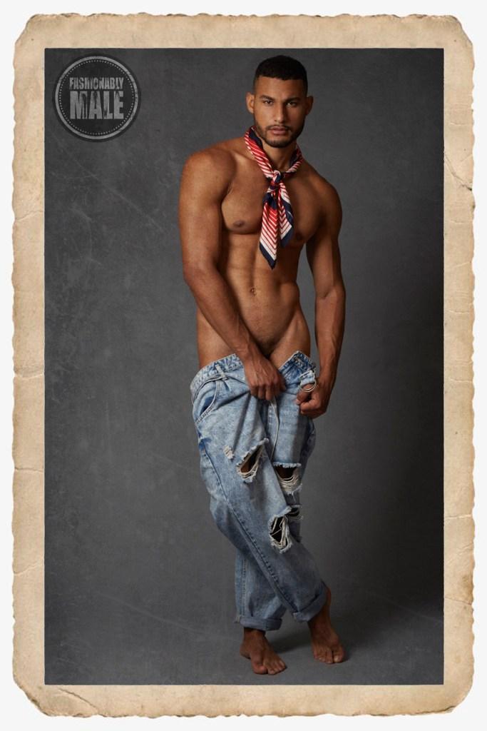Ellans De Santis by René González Jara for Fashionably Male